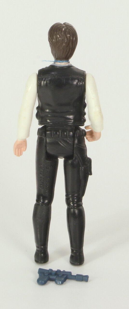Vintage Star Star Star Wars Loose Han Solo First 12 Very Nice Big Head 0707b3