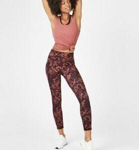 Sweaty-Betty-Super-esculpir-Suave-Con-Cintura-Alta-Yoga-Leggings-longitud-completa-tamano-XS