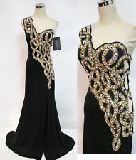 Cassandra Stone by MacDuggal 76564A Black $498 Gown 14