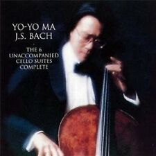 YO-YO MA - BACH: UNACCOMPANIED CELLO SUITES 2 CD NEU SOLOINSTRUMENT BACH