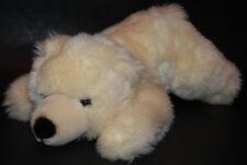 "Polar Bear Plush Stuffed Animal Toy Aurora SOFT 14"" Long Cream-Colored"