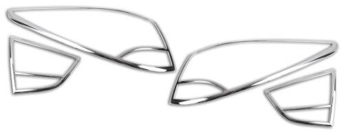 Hyundai IX35 Rückleuchtencover Chromleiste Blende Abdeckung Chromheckleuchten