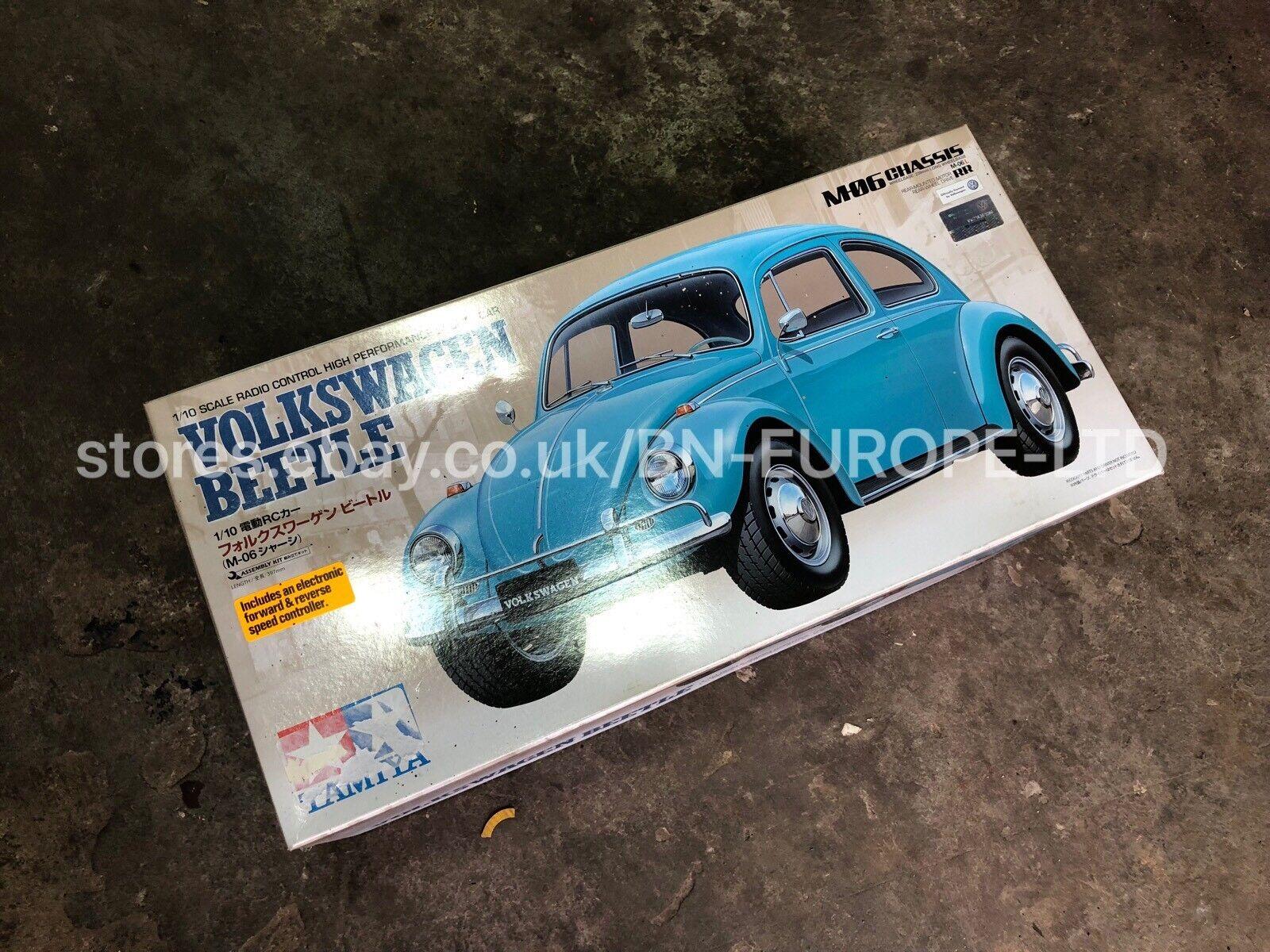 TAMIYA VW VOLKSWAGEN BEETLE CAR BRAND NEW BOXED RC RADIO CONTROL COLLECTORS