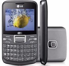 LG C195 Silver Unlocked GSM Quadband Qwerty WiFi camera camera Smartphone