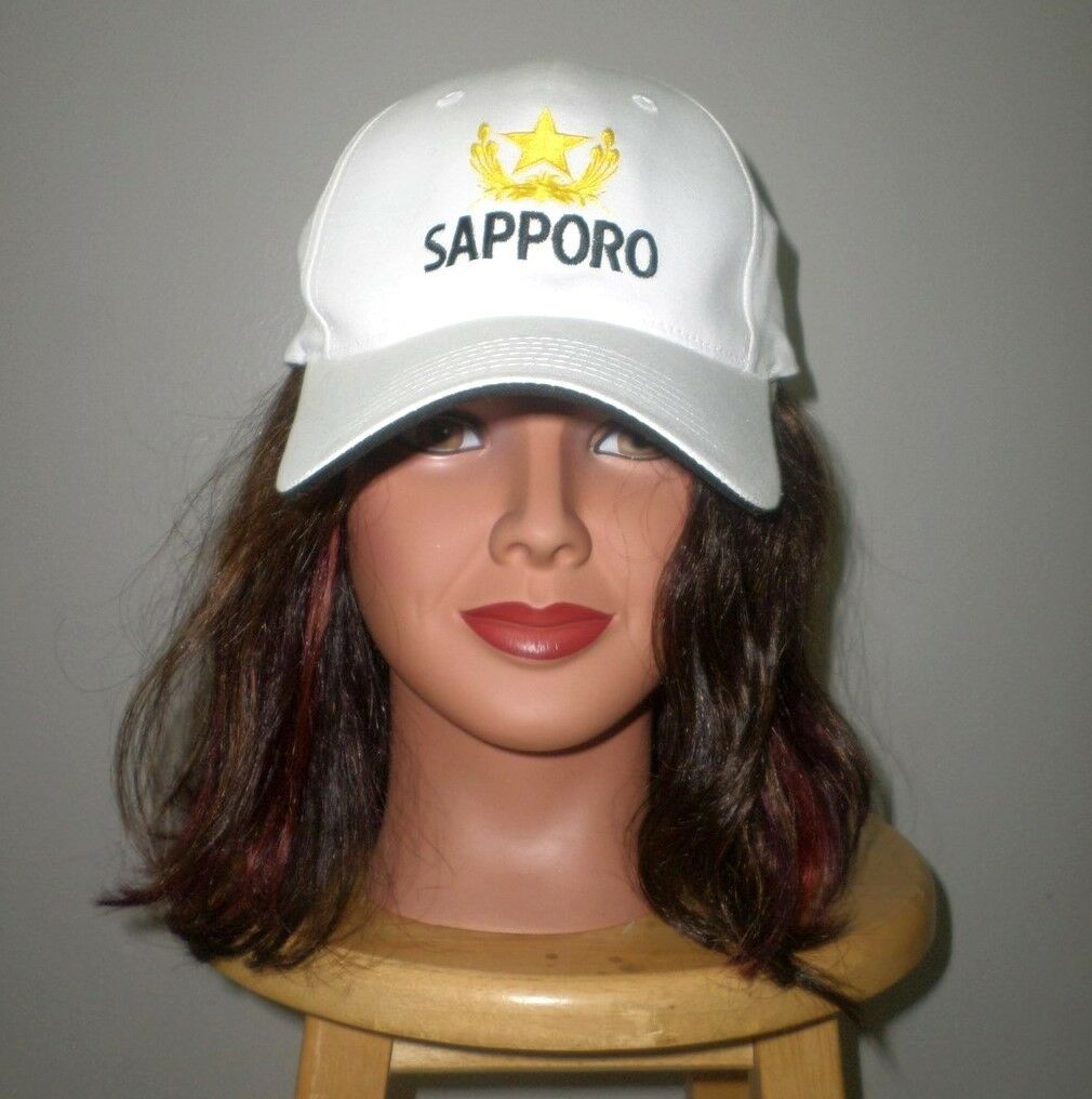 SAPPORO BREWERY baseball hat Japan beer Star cap Yebisu pale lager Gold Star beer logo OG 518257