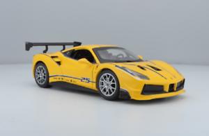 Bburago-1-24-Ferrari-488-Challenge-Diecast-Model-Sports-Racing-Car-NEW-IN-BOX