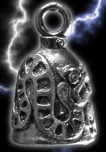 CHINESE DRAGON MOTORCYCLE BIKER GUARDIAN BELL GREMLIN BIKER PROTECTION FROM EVIL