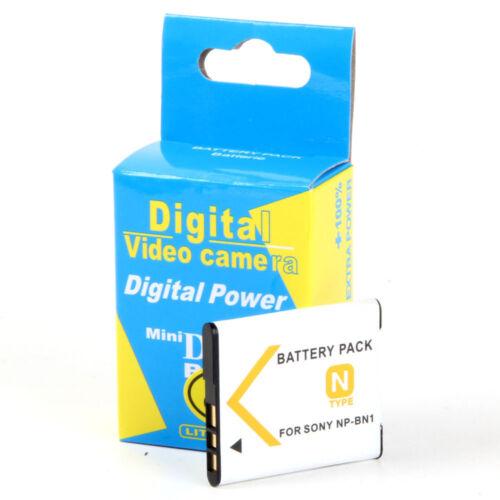 DSC-W330 W350 DSC-W710 Batería NP-BN1 NPBN1 650mAh para Sony Cybershot DSC