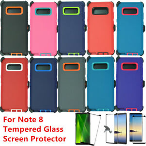 huge selection of dfd06 0c3ce Details about For Samsung Galaxy Note 8 Rugged Case Cover (Belt Clip Fits  Otterbox Defender)