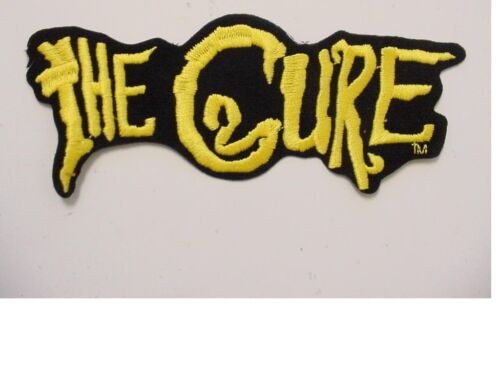 """set of 2 large THE CURE  PATCH EMBROIDERED 80/'S IRON ON PATCH-new 7.5/""""long"""