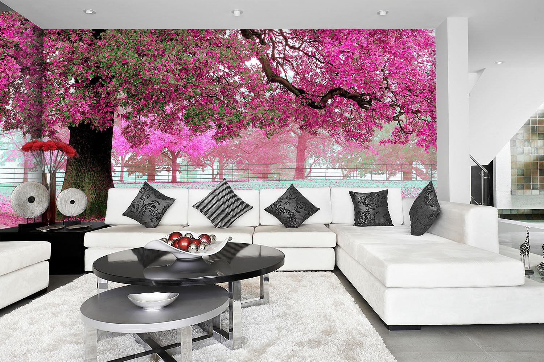 3D Beaux Arbre 35 Photo Papier Peint en Autocollant Murale Plafond Chambre Art