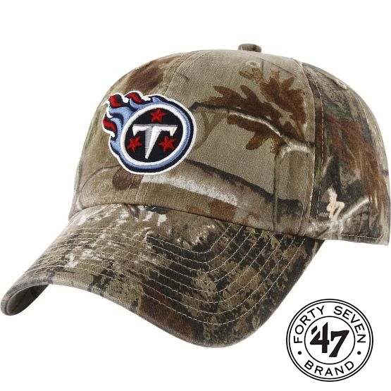 Tennessee Titans 47 BRAND Realtree Camo Frost MVP Adjustable Hat Cap ... 4b1ac6548