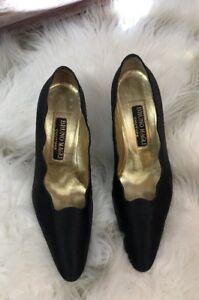 smerlato in di raso 6 spillo 5b In nero Tacco Magli a Couture Magli Made Italy xtHYwSwE