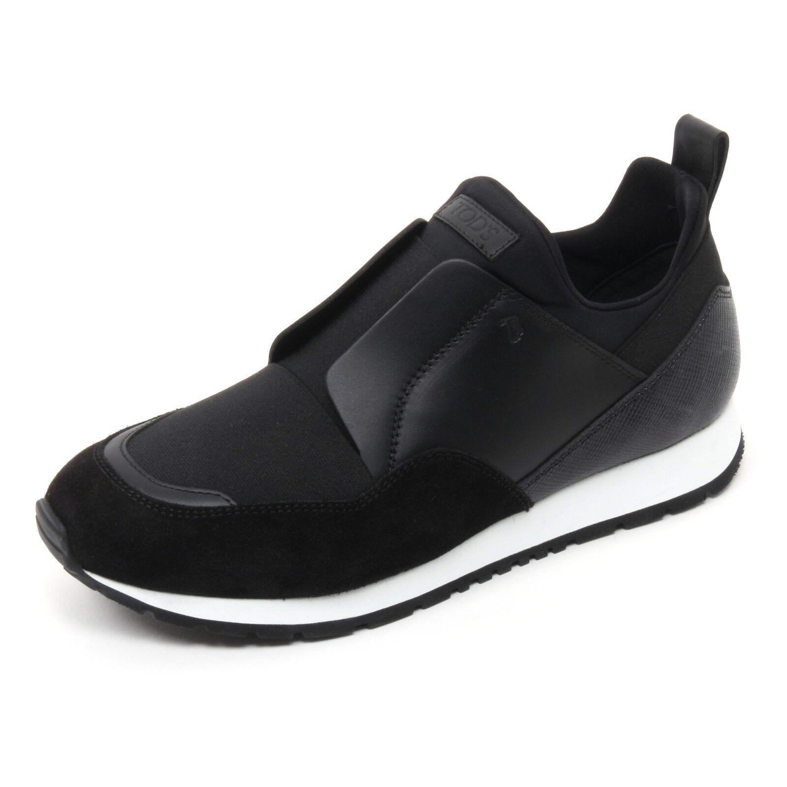 B7245 sneaker donna TOD'S shoe scarpa sportivo yo nero shoe TOD'S woman 601025
