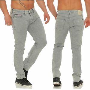Tommy-Hilfiger-Denim-Scanton-Homme-Jeans-Slim-Fit-Dyagst-Pantalon-Gris