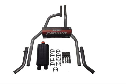 """04-14 Ford F-150 2.5/"""" Dual Exhaust Flowmaster 50 Corner Exit"""