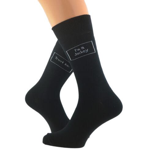Trust me I/'m a Jockey Woven Mens Socks UK 5-12 X6S155