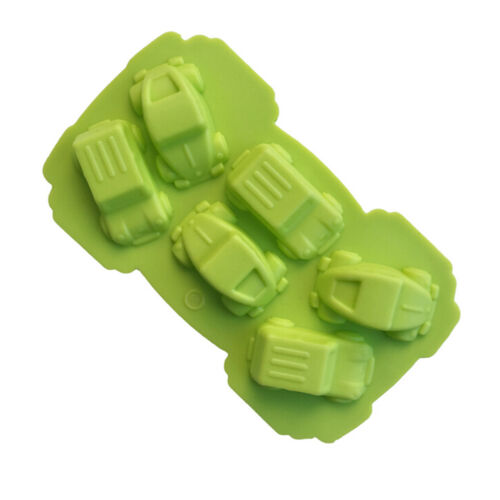 Car Silicone Mold Fondant Cake Chocolate Decorating Baking Tools Soap Mould HS
