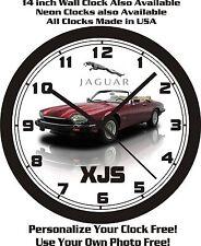 1992 JAGUAR XJS WALL CLOCK-FREE USA SHIP!