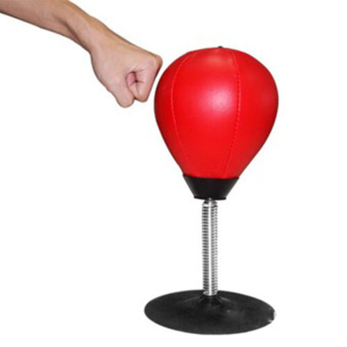 Desktop Punch Ball Boxing Punching Speed Bag Workout Stress Reliever Adults Gift