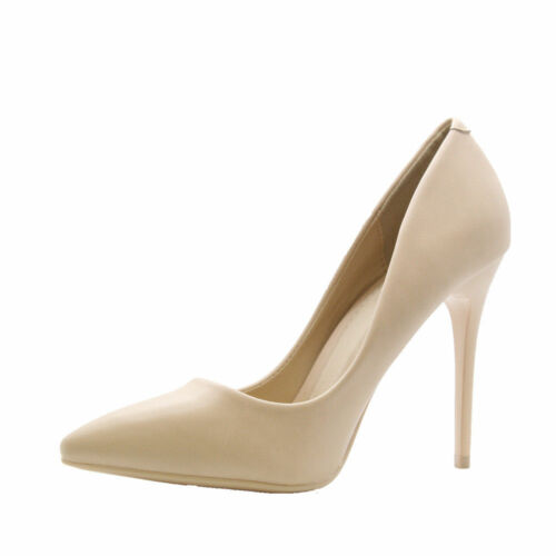 Ladies Womens High Stiletto Heel Pumps Work Smart Party Pointed Court Shoes Size