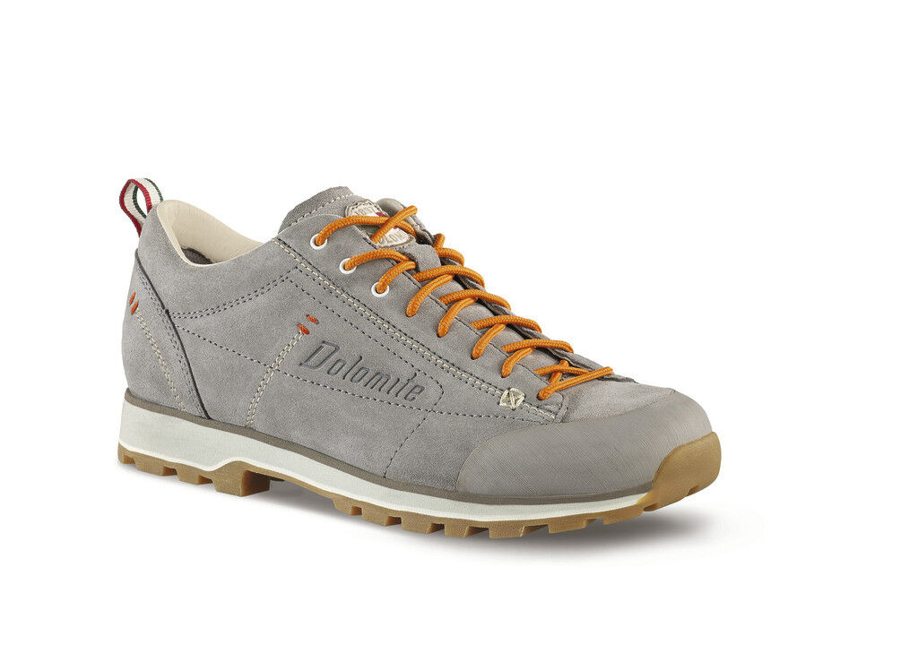 DOLOMITE 54 LOW W Turtledove Salmon shoes PELLE CINQUANTAQUATTRO LOW W women