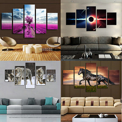 Huge Modern Home Wall Decor Art Oil Painting Picture Print No Frame