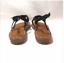 New-Women-s-Cloudwalkers-Braided-Demi-Wedge-Thong-Sandal-Black-Wide-Width thumbnail 5