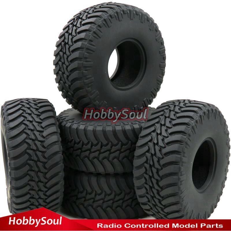 5pcs RC 2.2 Crawler neumáticos tire 130mm Tyre fit RC 4wd axial rpm 2.2 llantas Wheel