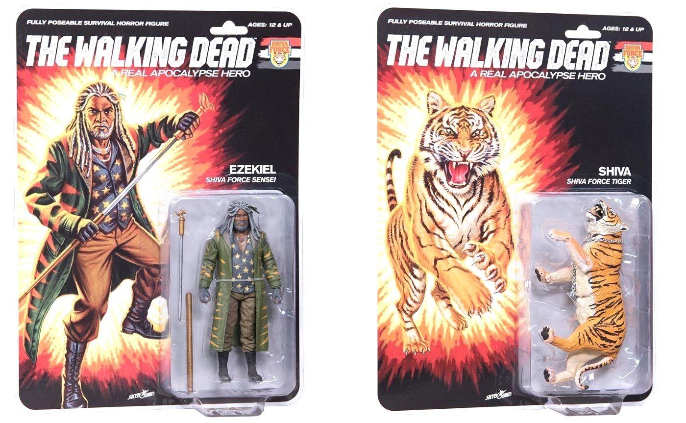 The Walking Dead - Shiva Force Ezekiel & Shiva - Vintage G.I Joe Style