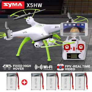 Syma-X5HW-4CH-Mantener-altura-RC-Drone-Con-HD-Camara-Giroscopica-FPV-tiempo-real
