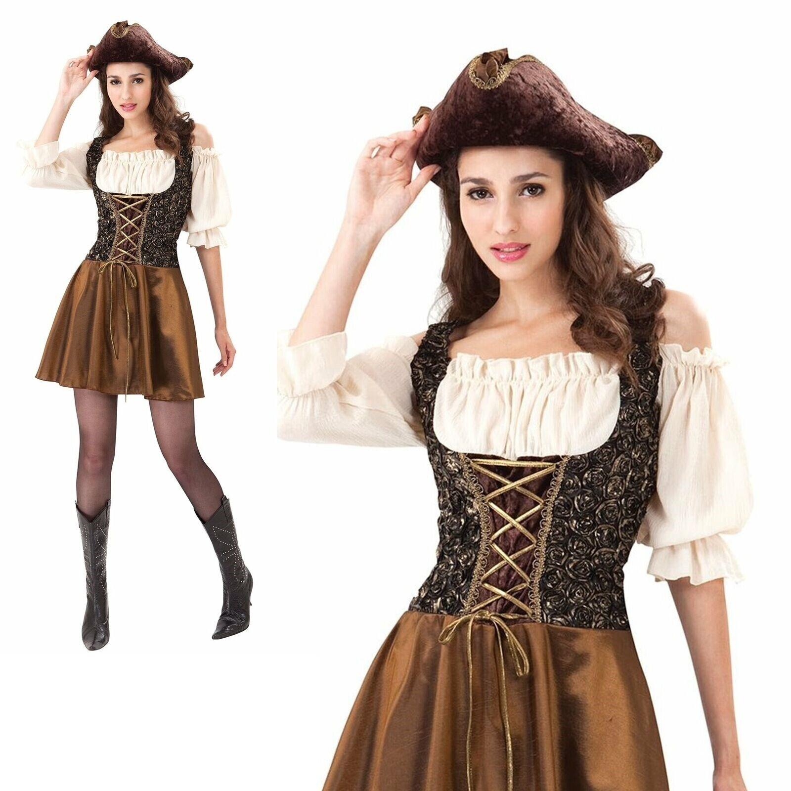 Ladies Jockey Costume Horse Riding Fancy Dress Womens Hen Party Ac723 For Sale Online Ebay