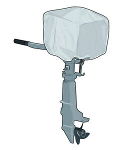 Sea Cover Outboard Motor Top Engine Cover 2-15 HP X Small NEW J26