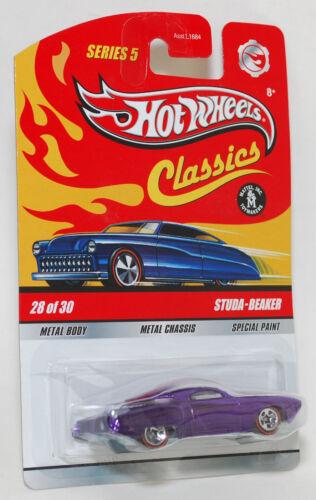 Hot Wheels Classics STUDA-BEAKER Purple 1:64 Series 5