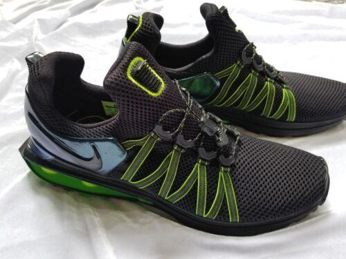Gorge Hommes Gravity 5 Green Black Shox Nike 11 Nouveau Taille UXgdqX