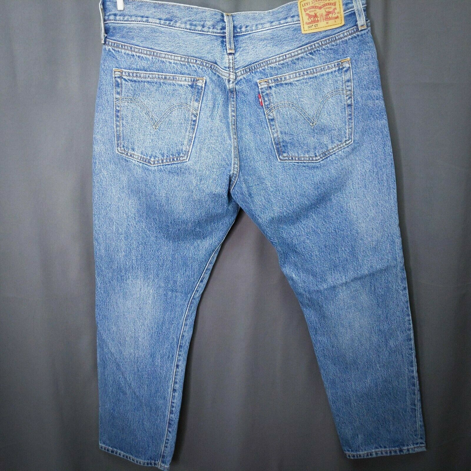 Levis CT 501 Womens Cropped Jeans Size 31x29 Cher… - image 5