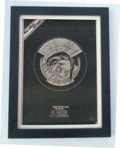 Details about FLEETWOOD  MAC*Penguin*Tour*1973*RARE*ORIGINAL*POSTER*AD*FRAMED*FAST WORLD SHIP