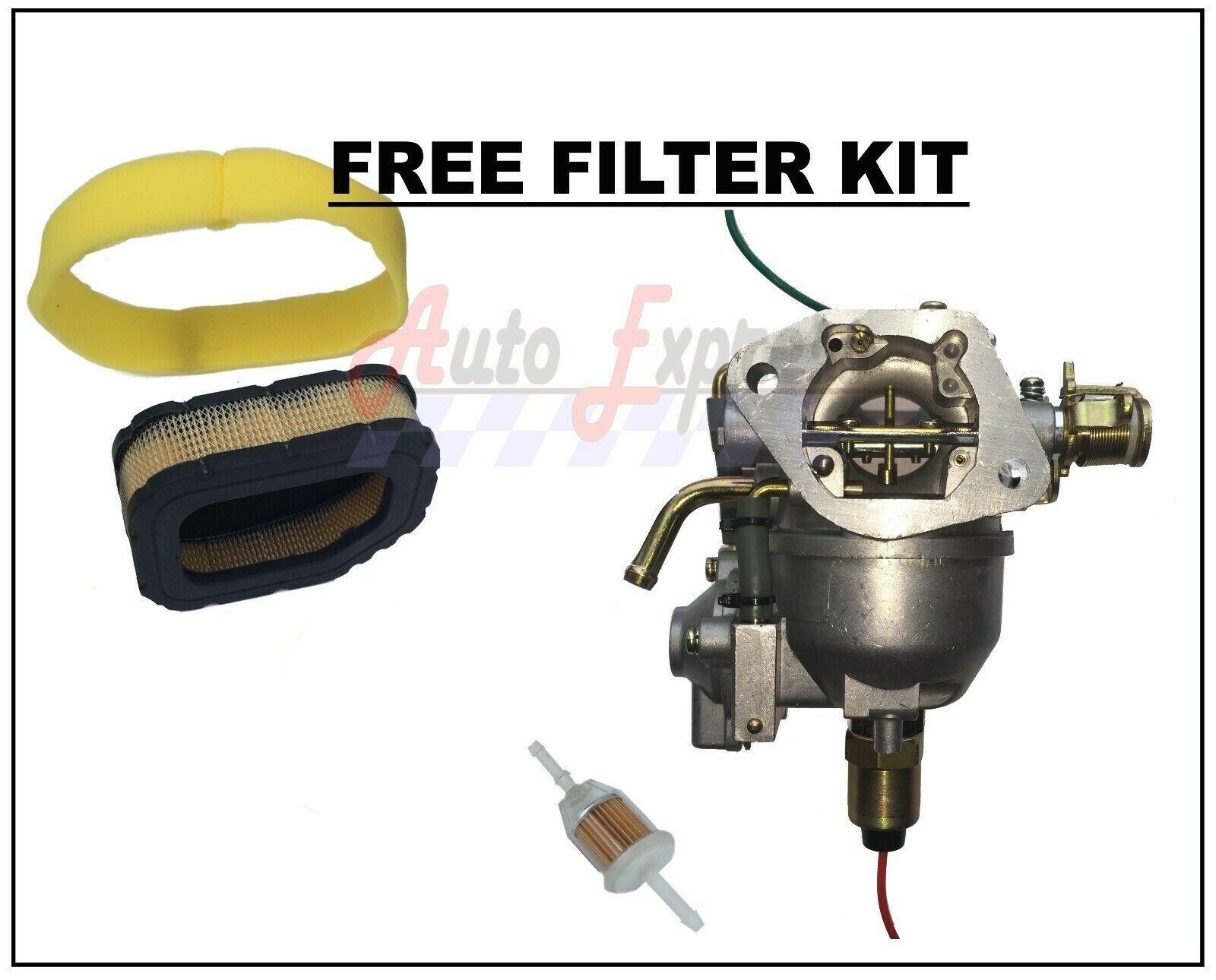 Carburetor Fits John Deere M655 M665 ZTrak Carb Pump Air Fuel Filters Nikki