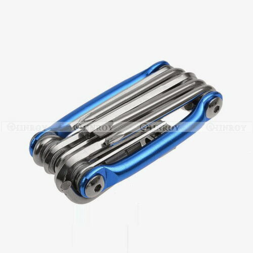 11 In 1 Multi-function Bicycle Mountain Bike Wrench Chain Cutter Repair Tool Set