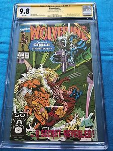 Wolverine-41-Marvel-CGC-SS-9-8-NM-MT-Signed-by-Larry-Hama
