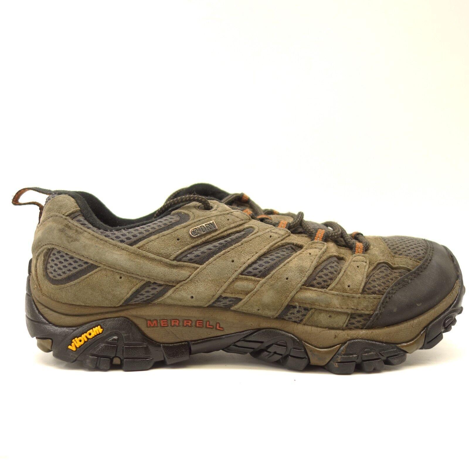 Merrell Mens Moab 2 Low Ventilator Athletic Support Hiking Trail schuhe Größe 10