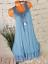 Women-039-s-Summer-Boho-Floral-sleeveless-Long-Maxi-Dress-Party-Beach-Sundress-6-14 thumbnail 14