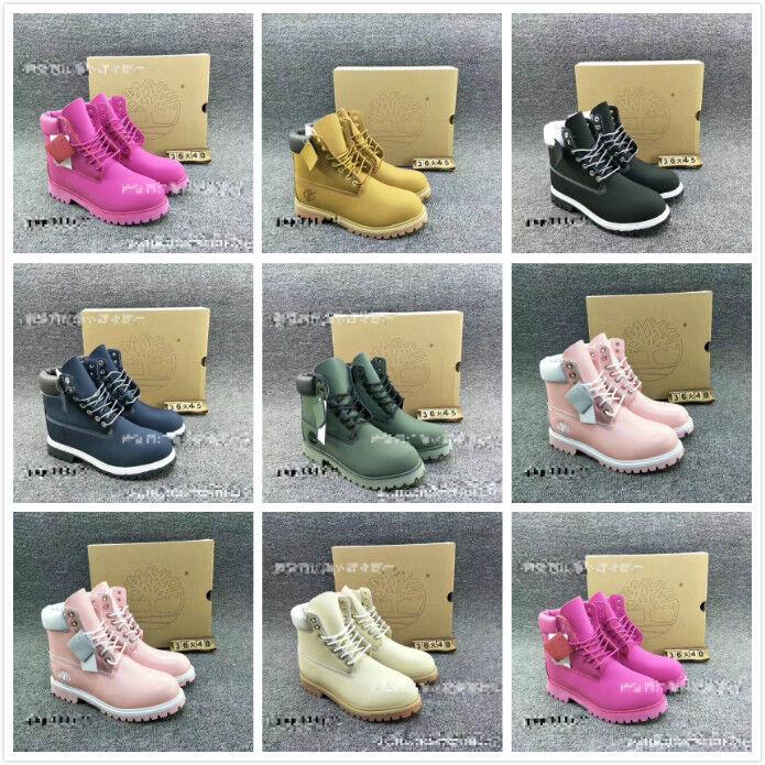 Para hombres Para mujeres de arranque de 6 Pulgadas Pulgadas Pulgadas botas al Tobillo Premium Clásico EU36-45 Y2138  barato y de alta calidad