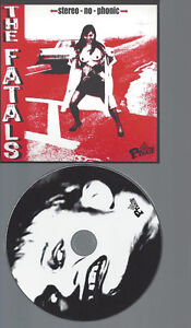CD-The-Fatals-Livin-My-Bed-Promo