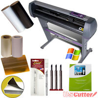 Beginner Decal Bundle 28 Vinyl Cutter For Signs Stickers + Design Cut Software