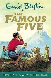 Five-Have-A-Wonderful-Time-Book-11-Famous-Five-Blyton-Enid-Good-Fast-De