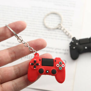 Mens-Video-Game-Handle-Keychain-Joystick-Machine-Keyring-Key-Holder-Trinket-Gift