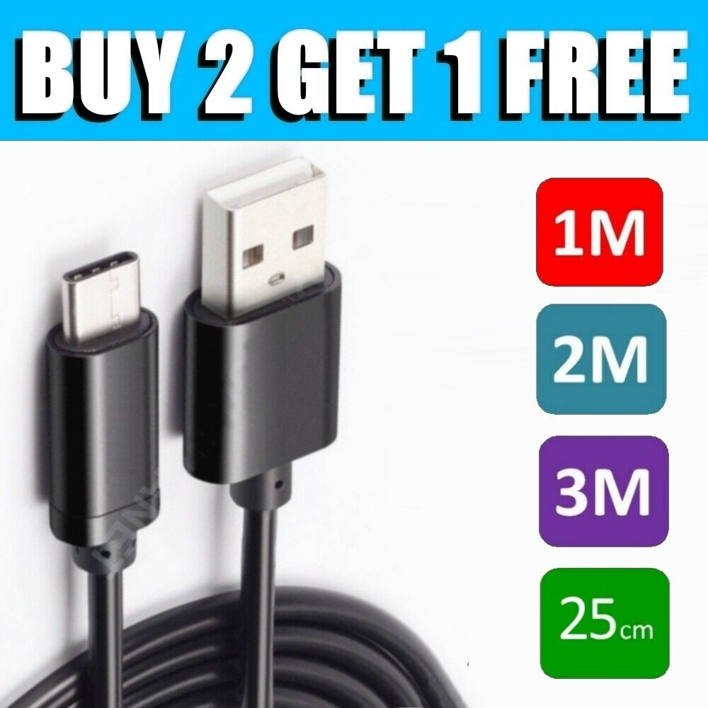 For GoPro Hero 6 7 8 9 Go Pro Type-C USB Data Sync Charger Charging Cable Lead