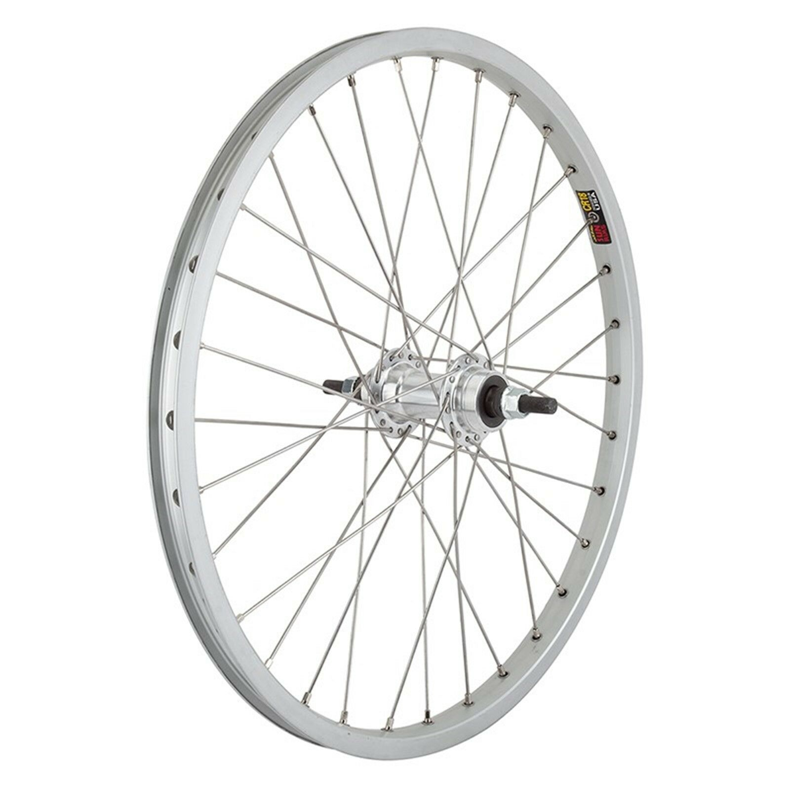 Wheel Master  20  Alloy Bmx Wheels  - 20In - Rr - 18 - B O 3 8 - Sil - Sun Cr18 -  80% off