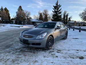 2009 INFINITI G37X FRESH SAFETY CLEAN TITLE NEW TIRES